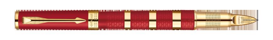 Parker Ingenuity Red Rubber & Metal GT