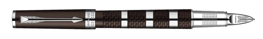 Parker Ingenuity Brown Metal & Rubber