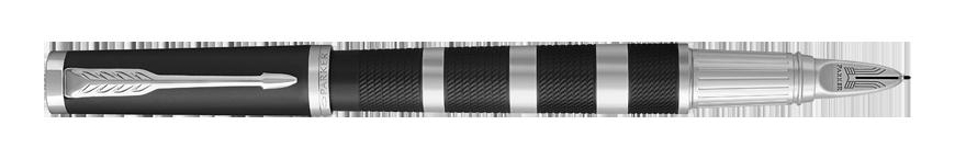 Parker Ingenuity Premium Black Rubber and Metal CT