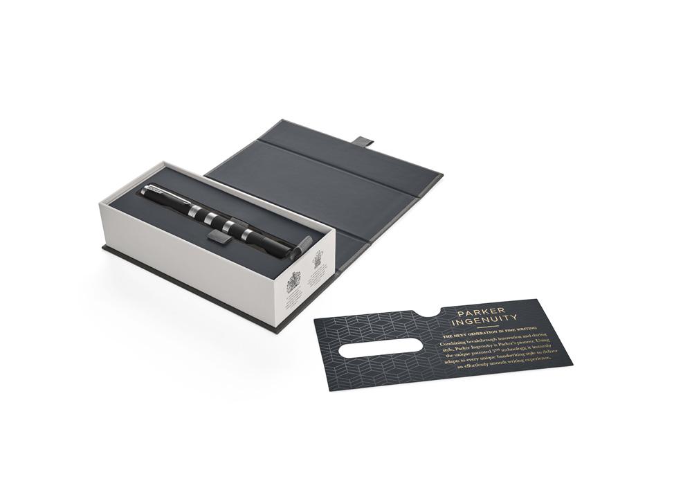 Parker Ingenuity Premium Black Rubber and Metal CT další obrázek 1