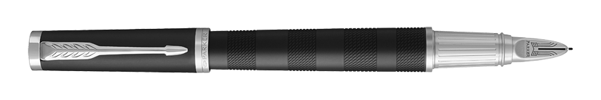 Parker Ingenuity Premium Black Rubber CT