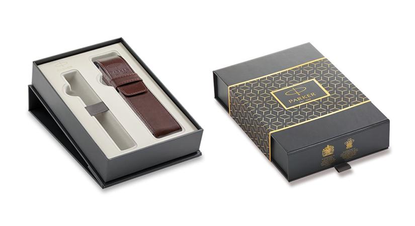 Parker Royal Box s koženým pouzdrem