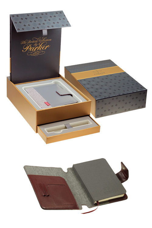 Parker Royal Exclusive box s organizérem Parker