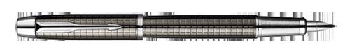 Parker IM Premium Deep Gun Metal Chiselled