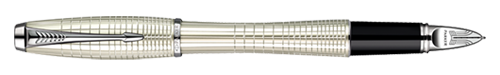 Parker 5TH Pearl Metal Chiselled