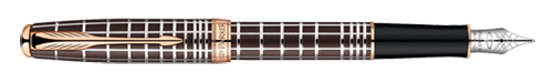 Parker Sonnet Dark Brown Laque PGT