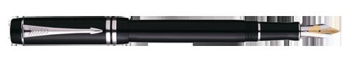 Parker Duofold Black Platinum