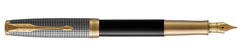 Parker Royal Sonnet Silver & Black GT