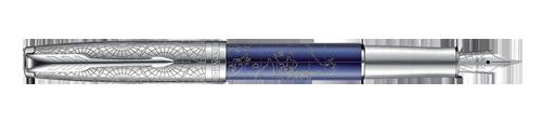 Parker Sonnet Premium Atlas Blue Silver CT - sada