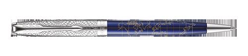 Parker Sonnet Premium SE Atlas Blue Silver CT - sada