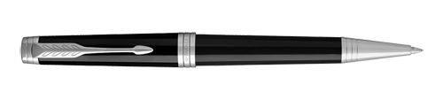 Parker Royal Premier Black Lacquer CT