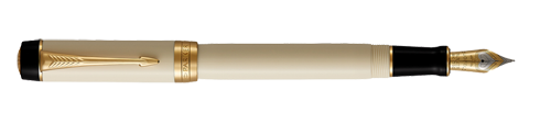 Parker Royal Duofold Classic Ivory & Black GT