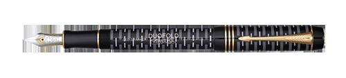 Parker Royal Duofold 100th Black GT- limitovaná edice