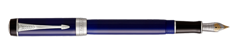 Parker Royal Duofold Classic Blue & Black CT